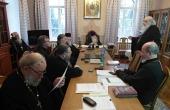 В Троице-Сергиевой лавре состоялось очередное заседание Синодальной богослужебной комиссии