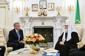 Состоялась встреча Святейшего Патриарха Кирилла с послом Королевства Дания в Российской Федерации