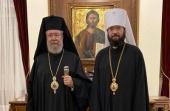 Руководитель Управления Московской Патриархии по зарубежным учреждениям встретился с Предстоятелем Кипрской Православной Церкви