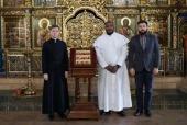 Россию посетил представитель христианских общин Нигерии