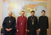 Епископ Церкви Англии посетил Отдел внешних церковных связей