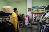 В Томске начал работу епархиальный гуманитарный склад