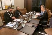 Συνάντηση του Προέδρου του ΤΕΕΣ με τον Γραμματέα της Επικράτειας του Γραφείου του Πρωθυπουργού της Ουγγαρίας
