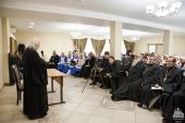 В Ахтубинске прошла встреча председателя Синодального отдела по благотворительности с социальными работниками и сестрами милосердия