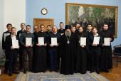 Московская духовная академия провела семинар для пресс-служб пяти семинарий