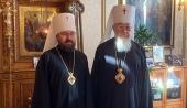 Состоялась встреча митрополита Волоколамского Илариона с Предстоятелем Польской Православной Церкви