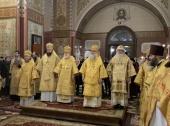 Митрополит Таллинский Евгений возглавил торжества по случаю праздника Собора святых Эстонской земли