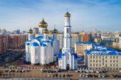 Глава Казахстанского митрополичьего округа провел рабочее совещание по вопросам строительства храма в честь Всех казахстанских святых в Нур-Султане