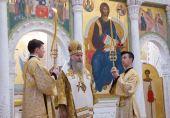 Председатель Синодального отдела по монастырям и монашеству совершил Литургию в Покровском ставропигиальном монастыре в Хотькове