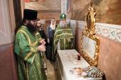 В Троице-Сергиевой лавре молитвенно почтили память митрополита Платона (Левшина)