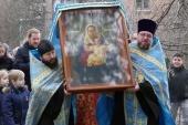 Чудотворный образ Пресвятой Богородицы из Даневского монастыря принесен в Киев