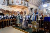 Митрополит Казахстанский Александр возглавил торжества по случаю престольного праздника Введенского кафедрального собора Караганды