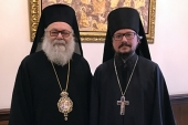 Representative of Patriarch of Moscow and All Russia meets with Primate of Orthodox Church of Antioch in Damascus