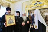 Відбулася зустріч Предстоятеля Руської Православної Церкви з Блаженнішим Митрополитом всієї Америки і Канади Тихоном