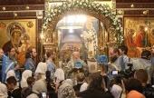 Патриарший наместник Московской епархии возглавил престольные торжества Владычнего Введенского монастыря г. Серпухова