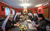 Session of Holy Synod of the Ukrainian Orthodox Church takes place