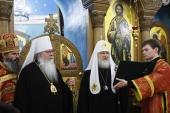 Слово Святішого Патріарха Кирила на Божественній літургії в храмі великомучениці Єкатерини на Вспольї