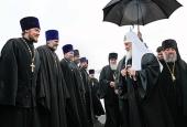 Святіший Патріарх Кирил прибув до Калінінграда
