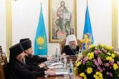 Состоялось заключительное в 2019 году заседание Синода Митрополичьего округа в Республике Казахстан