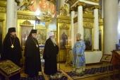 Предстоятель Православної Церкви в Америці молився за всеношною в московському храмі на честь ікони «Всіх скорботних Радість» на Великій Ординці
