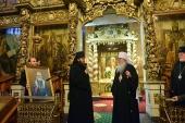 Предстоятель Православной Церкви в Америке посетил Донской ставропигиальный монастырь в Москве