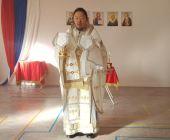 В Неделю 25-ю по Пятидесятнице владыка Корейский Феофан совершил Литургию в Пусане