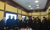 Завершился визит Блаженнейшего Митрополита всей Америки и Канады Тихона в Москву