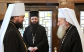 Bishop of Ukrainian Orthodox Church meets with Bulgarian Patriarch Neofit