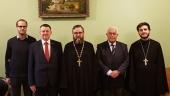 Секретарь ОВЦС по делам дальнего зарубежья встретился со словенской делегацией