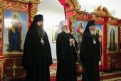 Патриарший экзарх всея Беларуси возглавил торжества по случаю пятилетия со дня образования Молодечненской епархии