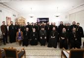 В Общецерковной аспирантуре прошел семинар для священнослужителей Московской городской епархии, окормляющих столичные вузы