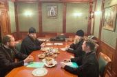 Состоялась рабочая встреча председателя Финансово-хозяйственного управления Московского Патриархата и директораХПП «Софрино»