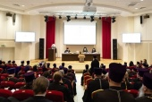 Патриарший экзарх всея Беларуси возглавил общее собрание Минской епархии