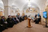 Предстоятель Русской Церкви встретился с молодыми реставраторами и волонтерами, восстанавливающими храмы