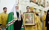 Патриаршая проповедь в храме благоверного князя Андрея Боголюбского на Волжском г. Москвы