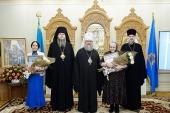 В Алма-Ате состоялось вручение премий имени митрополита Иосифа (Чернова) за труды по духовному просвещению и социальной деятельности