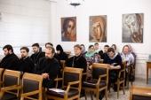 В Общецерковной аспирантуре начался недельный семинар, посвященный организации делопроизводства в епархиях Русской Православной Церкви
