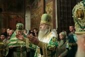 Председатель Синодального отдела по монастырям и монашеству возглавил в Саввино-Сторожевском монастыре празднование дня памяти основателя обители