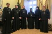 Глава Смоленской митрополии принял представителей Синодального отдела по монастырям и монашеству
