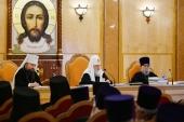 Святейший Патриарх Кирилл возглавил расширенное заседание Епархиального совета г. Москвы