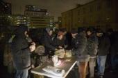 Сотрудники Синодального комитета по взаимодействию с казачеством приняли участие в акции помощи бездомным