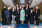 Митрополит Таллинский Евгений принял участие во встрече с Президентом Эстонии