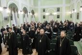 В Санкт-Петербургской духовной академии прошел III семинар Сообщества преподавателей и исследователей Священного Писания