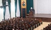 Митрополит Волоколамский Иларион рассказал учащимся Московских духовных школ о ситуации в православном мире
