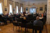 В Архиерейском доме в Красноярске представили документальный фильм об известном красноярском священнике архимандрите Нифонте (Глазове)