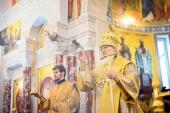 Предстоятель Русской Церкви освятил храм праведного воина Феодора Ушакова в Южном Бутове г. Москвы