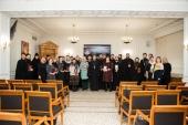 В Общецерковной аспирантуре завершился семинар для епархиальных делопроизводителей и архивистов