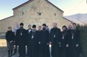 Клирики и миряне Волынской епархии совершили паломничество в Грузию