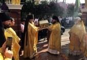 В рамках празднования 20-летия Православия в Таиланде в Таиландскую епархию принесен Пояс Пресвятой Богородицы
