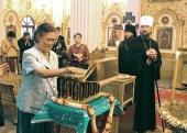 Принцесса Таиланда Маха Чакри Сириндхорн посетила храм святителя Николая Мирликийского в Бангкоке